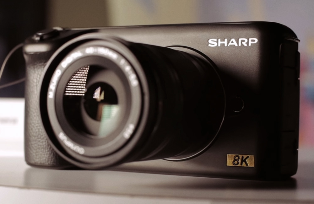 Sharp 8K Micro Four Thirds Camera